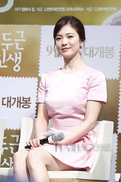 """nhung khoanh khac """"van nguoi me"""" cua song hye kyo - 16"""