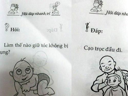 """do khoc do cuoi voi nhung cau do """"nham"""" cho tre em - 3"""
