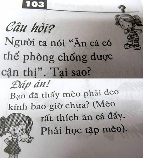 """do khoc do cuoi voi nhung cau do """"nham"""" cho tre em - 4"""