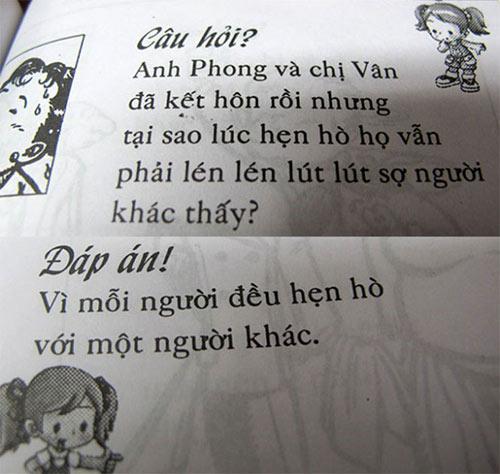 """do khoc do cuoi voi nhung cau do """"nham"""" cho tre em - 6"""