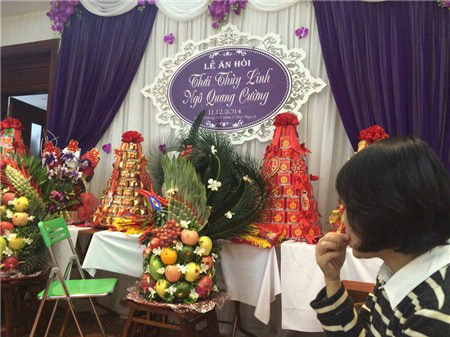 """""""ba me don than"""" thai thuy linh da lam le an hoi - 2"""
