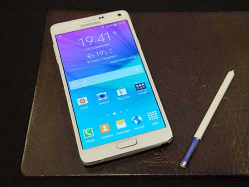 "sap co galaxy note 4 dung chip ""khung"" snapdragon 810 - 1"