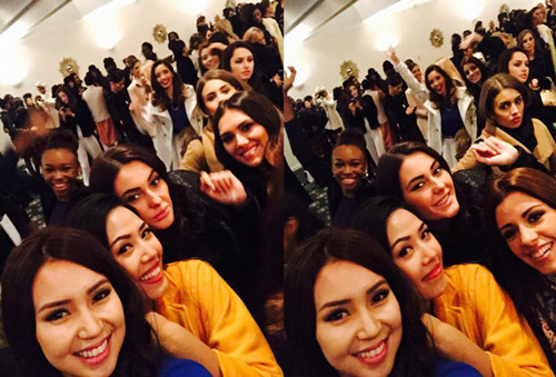 hoa hau nam phi dang quang miss world  2014 - 15