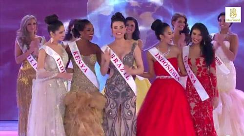 hoa hau nam phi dang quang miss world  2014 - 9