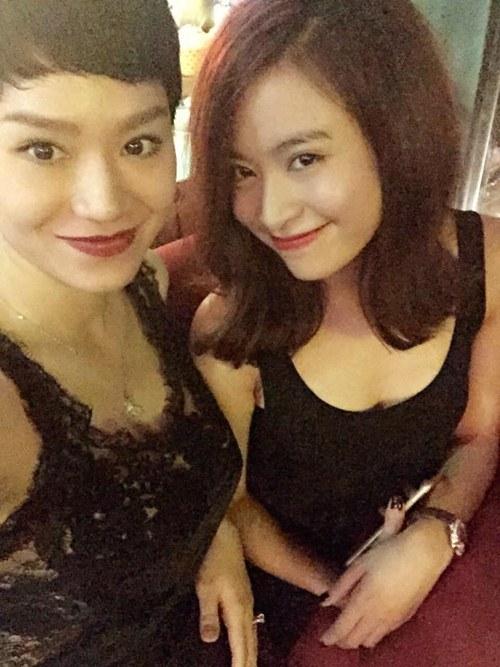 tra my idol khoe dang chuan 3 tuan sau khi sinh - 2