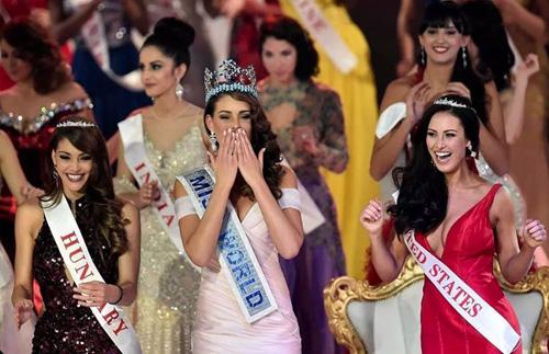 hoa hau nam phi dang quang miss world  2014 - 1