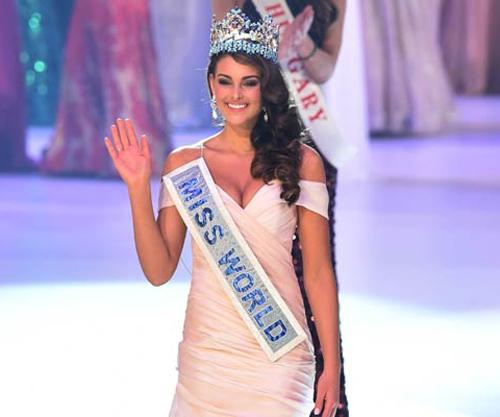 hoa hau nam phi dang quang miss world  2014 - 2