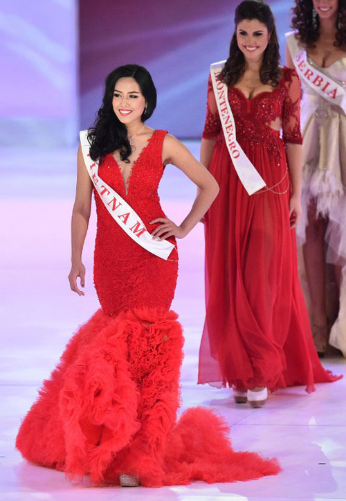 bat ngo it ai biet cua nguyen thi loan o top 25 miss world - 3