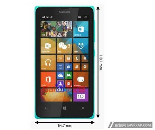 smartphone gia re lumia 435 cua microsoft lo dien - 1
