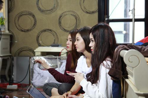 """kim nha, a han, phuong tam """"bo ba tham tu"""" trong """"mat vu son moi"""" - 5"""