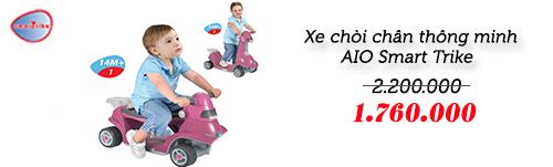 xe thong minh smart trike an toan cho be yeu - 1