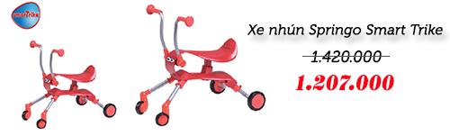 xe thong minh smart trike an toan cho be yeu - 2