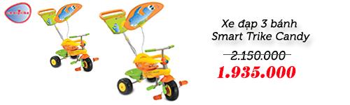 xe thong minh smart trike an toan cho be yeu - 5