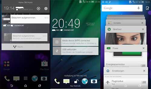 htc one m7 va m8 bat dau duoc cap nhat android 5.0 tu 3/1/2015 - 1