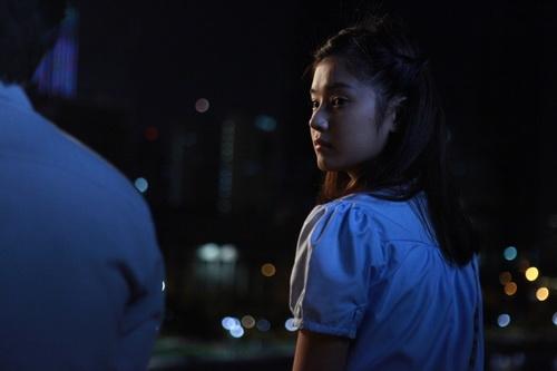 """hoang yen chibi cap """"trai dep huong ga"""" trong phim ma - 5"""