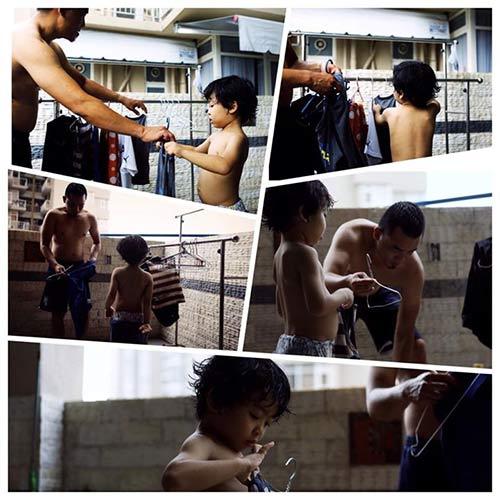 """Bộ ảnh """"Cha nào con nấy"""" tuyệt đẹp của ông bố Sài Gòn và con trai - 2"""