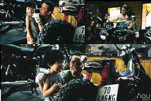 """Bộ ảnh """"Cha nào con nấy"""" tuyệt đẹp của ông bố Sài Gòn và con trai - 4"""