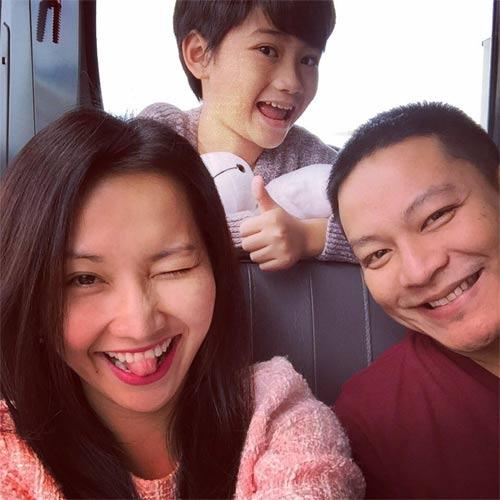 vo chong kim hien hanh phuc dua sonic di nghi duong - 1