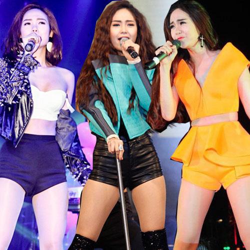 san khau nam 2014 bung chay vi 4 my nhan sexy - 10