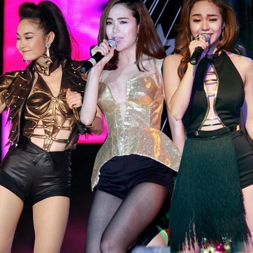 san khau nam 2014 bung chay vi 4 my nhan sexy - 11
