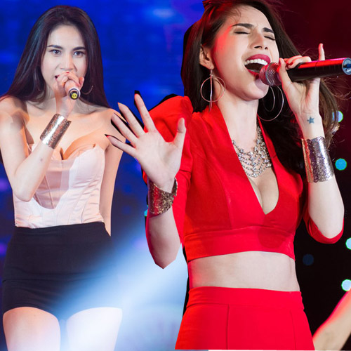 san khau nam 2014 bung chay vi 4 my nhan sexy - 3