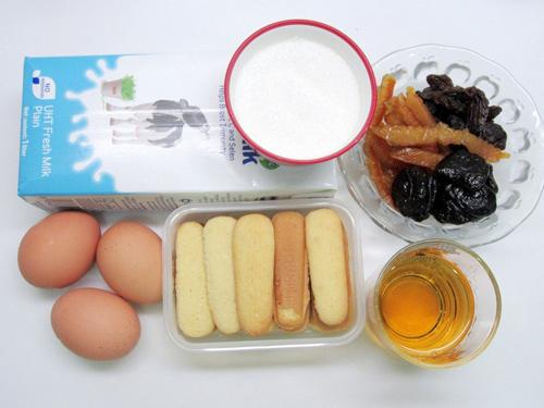 banh pudding mut hoa qua day hap dan - 1