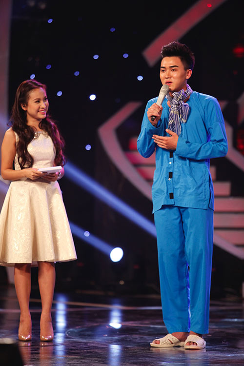 """uyen linh """"tai xuat"""" khan gia truyen hinh tren san khau got talent - 5"""
