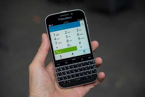 anh thuc te blackberry classic tai viet nam, gia 10,5 trieu dong - 10