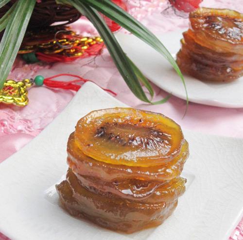 Mứt kiwi chua chua, ngòn ngọt đón Tết-11