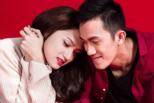 noel ngot ngao cua huong giang idol va ban trai - 8