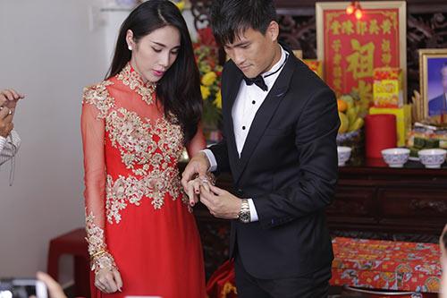 thuy tien - cong vinh hanh phuc trao nhan cuoi - 37