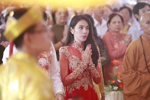 thuy tien - cong vinh hanh phuc trao nhan cuoi - 13