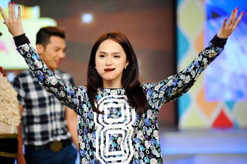 ha anh khoe eo boc lua, huong giang idol nhay cuc sung - 13