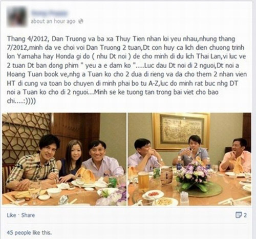 muon facebook doi no: showbiz viet 'ha be' nhau de doi tien? - 3
