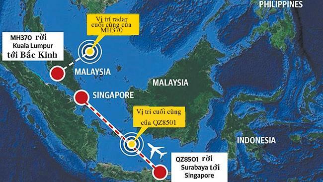 may bay qz8501 lieu co lap lai tham kich mh370? - 2