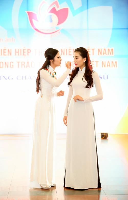 top 5 hhvn 2014 dep diu dang trong ta ao dai - 3