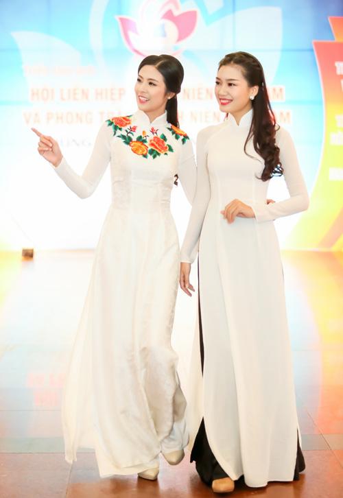 top 5 hhvn 2014 dep diu dang trong ta ao dai - 2