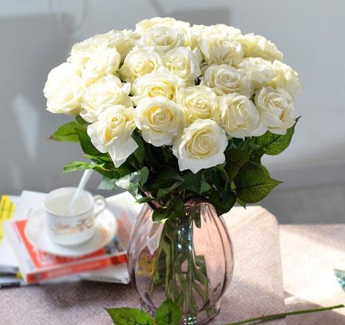 trang tri nha voi hoa gia, hoa vai cao cap - 4
