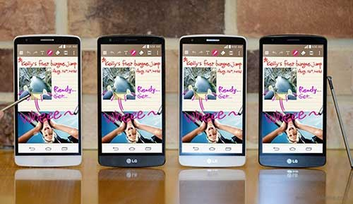 lg g4 se co man hinh 5,3 inch va but cam ung - 1