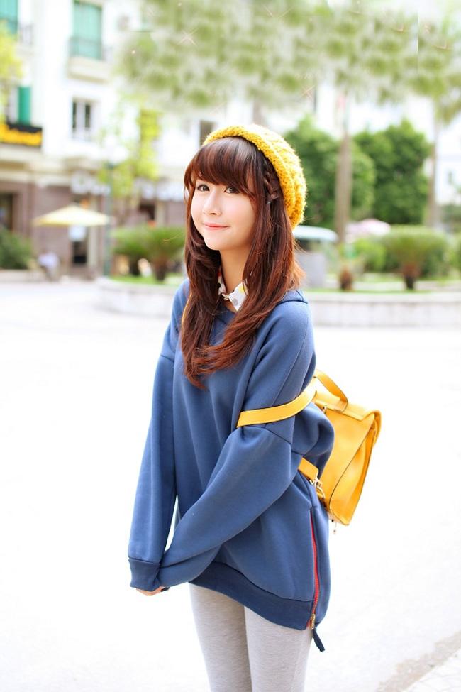 Một chiếc mũ len ấm áp không những giúp bảo vệ đầu và mái tóc trước không khí lạnh khắc nghiệt mà còn là một phụ kiện thời trang vô cùng tinh tế.