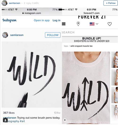 """h&m to cao forever 21 """"an cap"""" y tuong - 2"""
