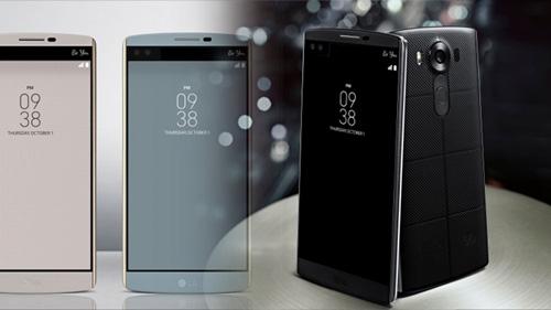 LG chính thức giới thiệu smartphone 2 màn hình V10-1