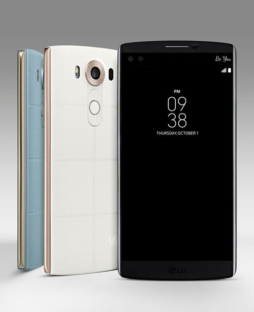 LG chính thức giới thiệu smartphone 2 màn hình V10-5