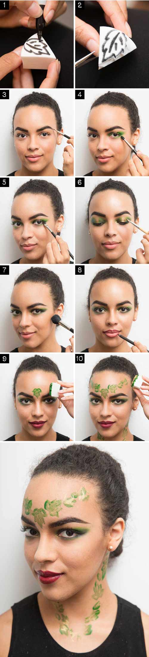4 cach make-up cuc quai cho dem halloween chi rieng ban co - 3