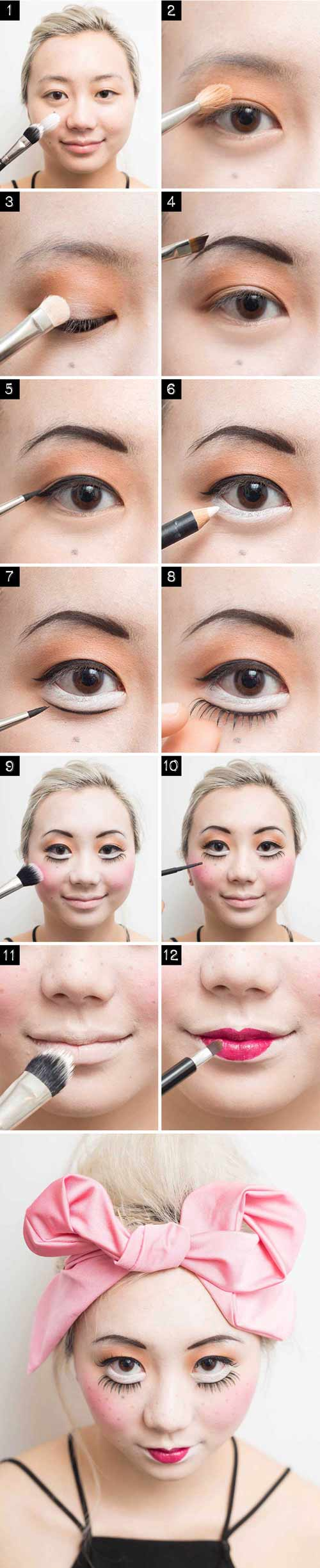 4 cach make-up cuc quai cho dem halloween chi rieng ban co - 4