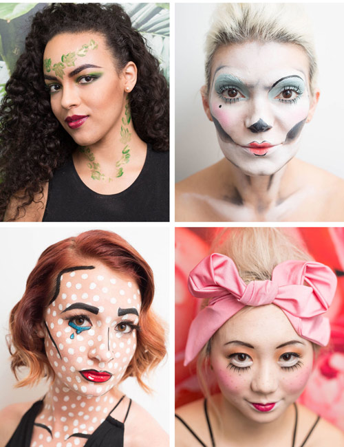 4 cach make-up cuc quai cho dem halloween chi rieng ban co - 1