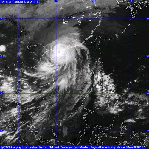 Bão số 4 đã đổ bộ Trung Quốc, miền Bắc mưa lớn-2