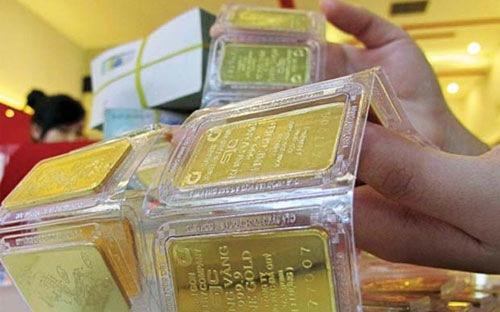 Giá vàng bật tăng, lấy lại mốc 34 triệu đồng/lượng-1