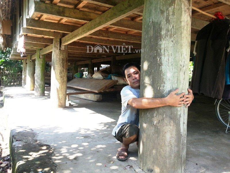 Chiêm ngưỡng ngôi nhà sàn cổ bằng gỗ quý hiếm ở xứ Thanh-6