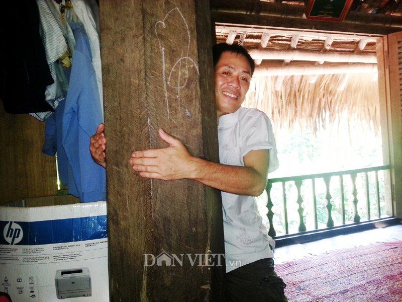 Chiêm ngưỡng ngôi nhà sàn cổ bằng gỗ quý hiếm ở xứ Thanh-7